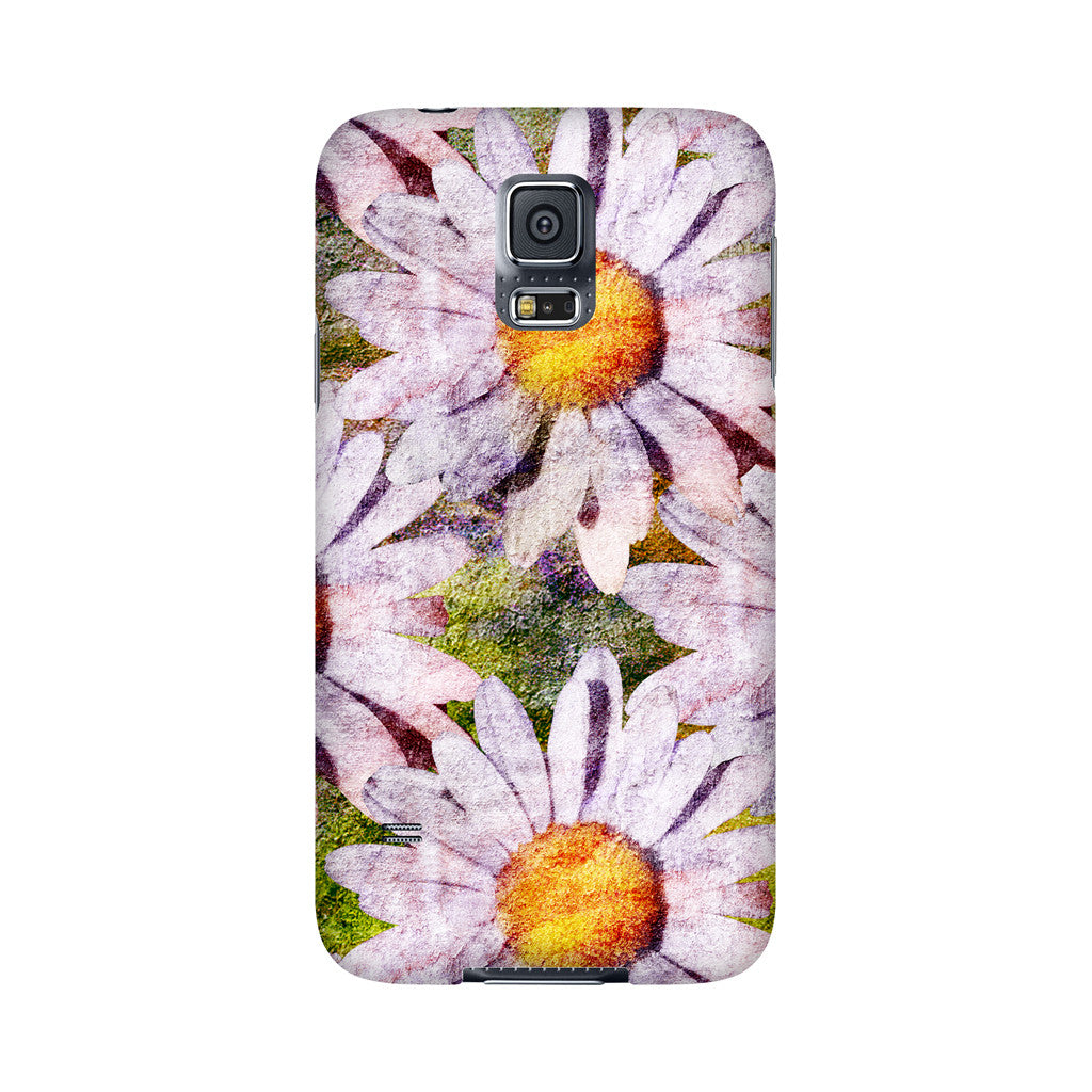 Birthday Blossoms April Daisy Phone Case Galaxy 5