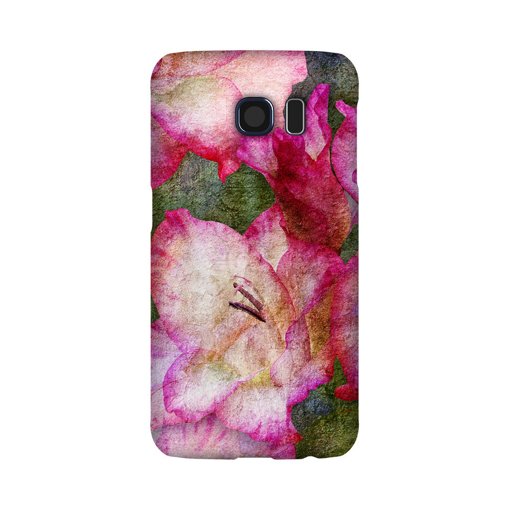 Birthday Blossoms August Gladiolus Phone Case Galaxy S6