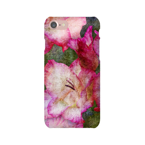 Birthday Blossoms August Gladiolus Phone Case iPhone 7
