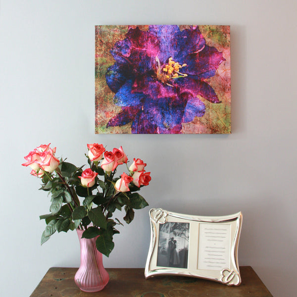Birthday Blossoms Wall Art - Larkspur