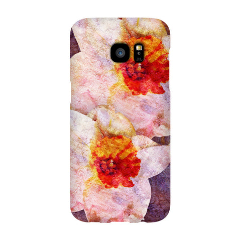 Birthday Blossoms December Narcissus Phone Case Galaxy S7 EDGE