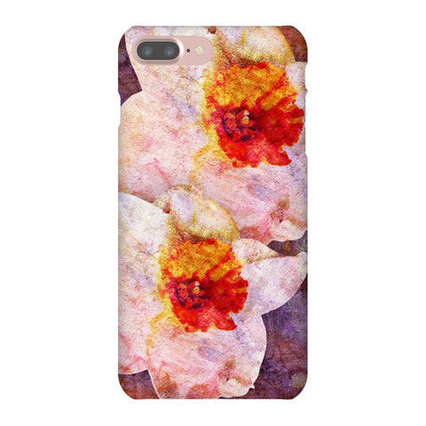 Birthday Blossoms December Narcissus Phone Case iPhone 7 Plus
