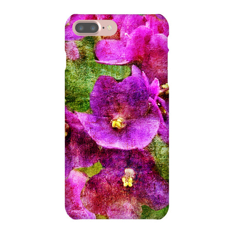 Birthday Blossoms February Violet Phone Case iPhone 7 Plus