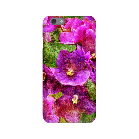 Birthday Blossoms February Violet Phone Case iPhone 6S