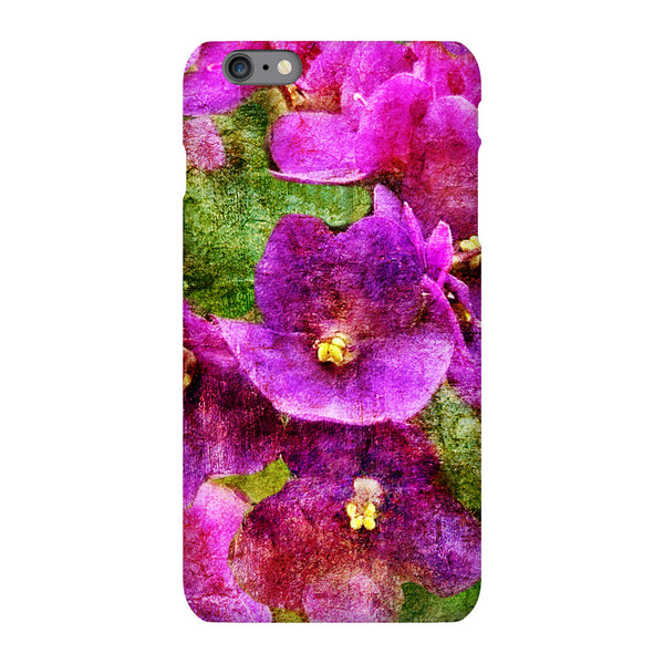 Birthday Blossoms February Violet Phone Case iPhone 6S Plus