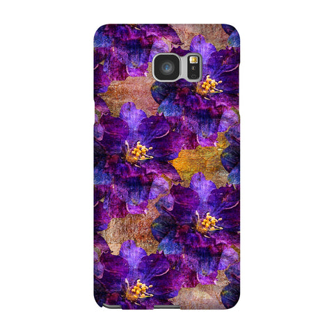 Birthday Blossoms July Larkspur Phone Case Galaxy 5