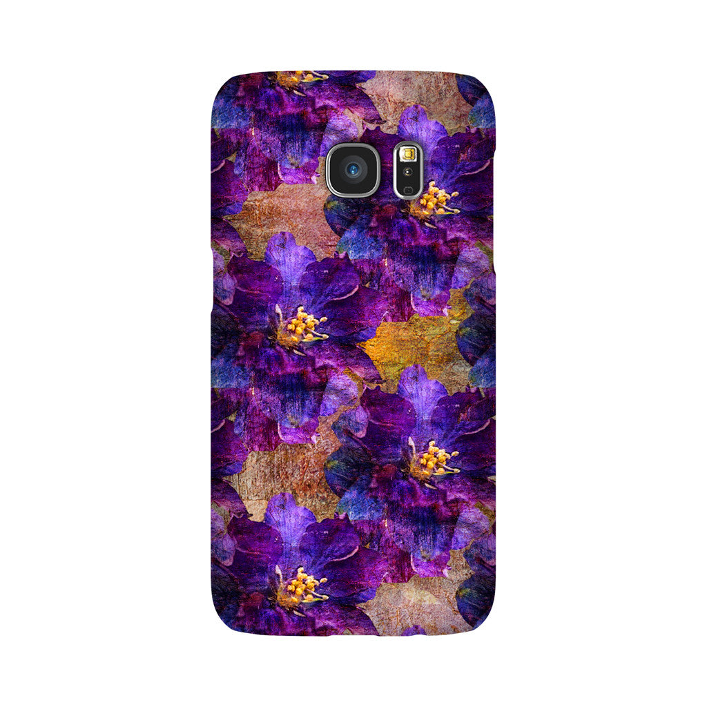 Birthday Blossoms July Larkspur Phone Case Galaxy S7