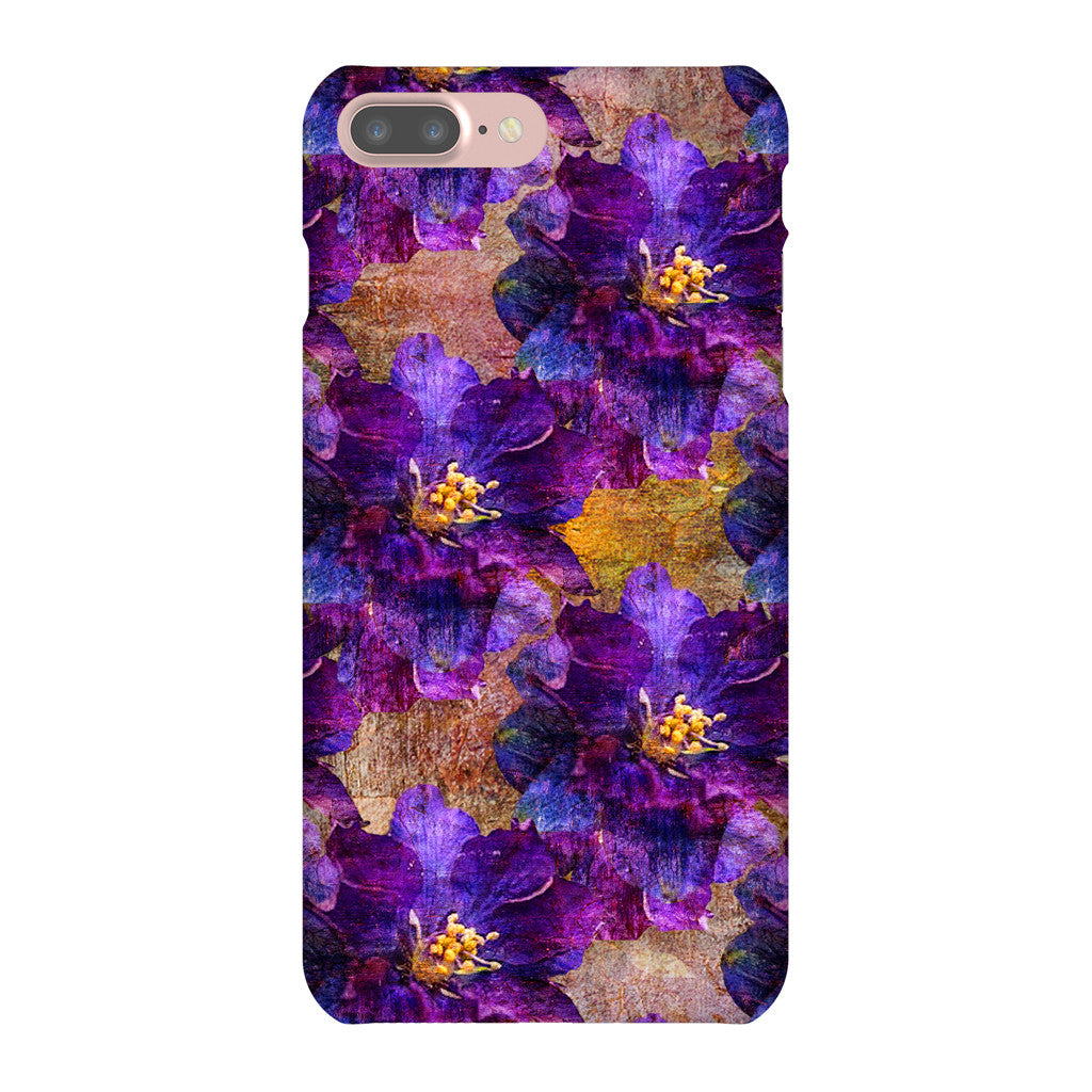 Birthday Blossoms July Larkspur Phone Case iPhone 7 Plus