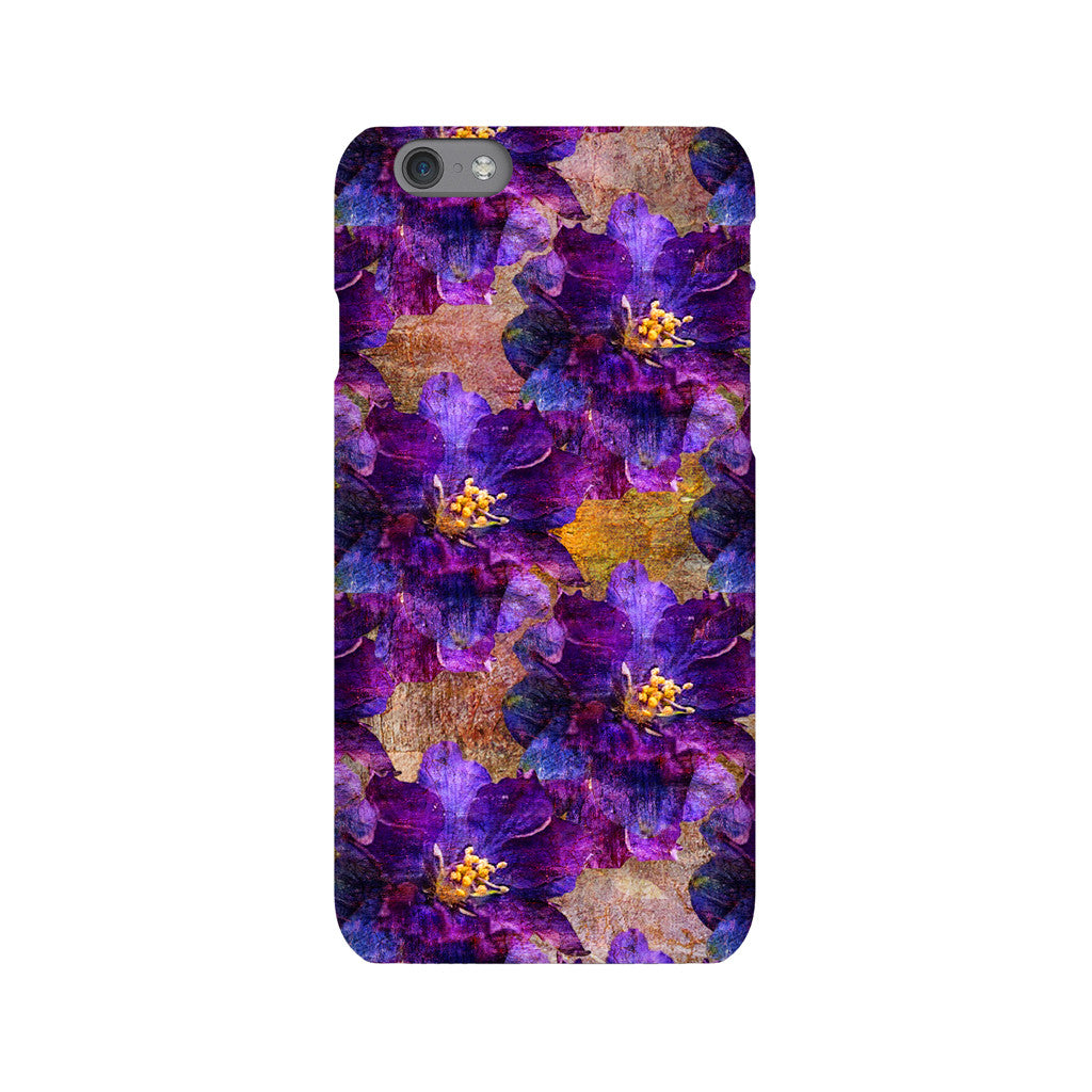 Birthday Blossoms July Larkspur Phone Case iPhone 6S
