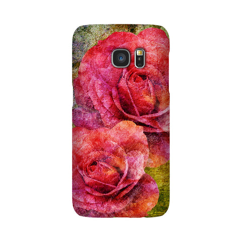 Birthday Blossoms June Rose Phone Case Galaxy S7