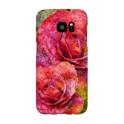 Birthday Blossoms June Rose Phone Case Galaxy S7 EDGE