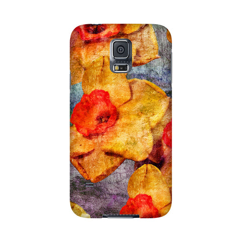 Birthday Blossoms March Daffodil Phone Case Galaxy 5