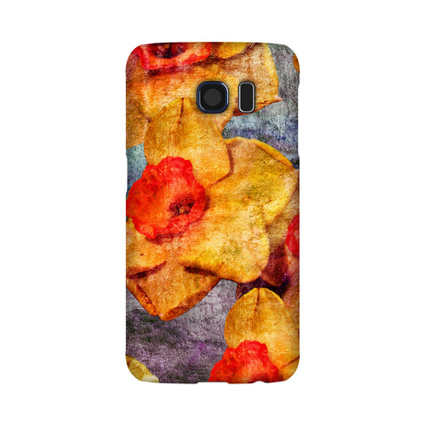 Birthday Blossoms March Daffodil Phone Case Galaxy S6