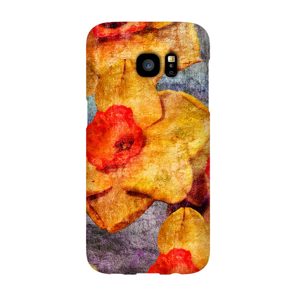 Birthday Blossoms March Daffodil Phone Case Galaxy S7 EDGE