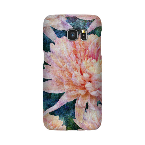 Birthday Blossoms November Chrysanthemum Phone Case Galaxy S7