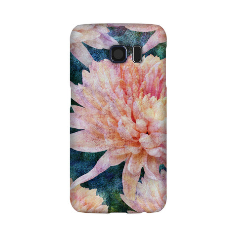 Birthday Blossoms November Chrysanthemum Phone Case Galaxy S6