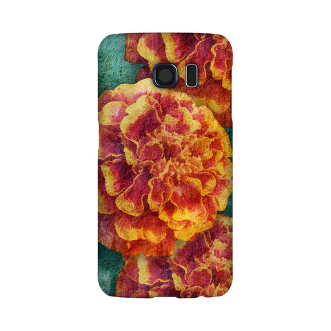 Birthday Blossoms October Marigold Phone Case Galaxy S6