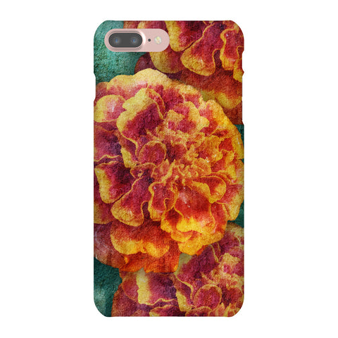 Birthday Blossoms October Marigold Phone Case iPhone 7 Plus