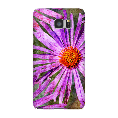 Birthday Blossoms September Aster Phone Case Galaxy 5