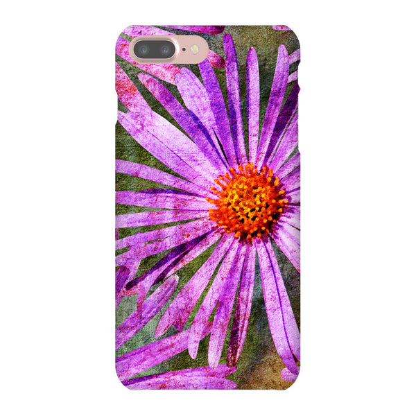 Birthday Blossoms September Aster Phone Case iPhone 7 Plus