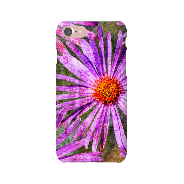 Birthday Blossoms September Aster Phone Case iPhone 7