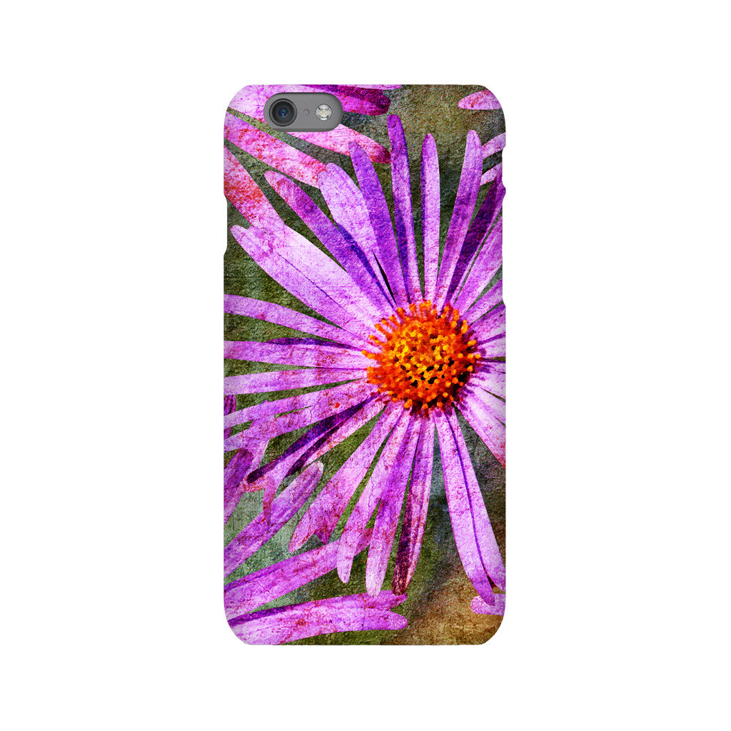 Birthday Blossoms September Aster Phone Case iPhone 6S