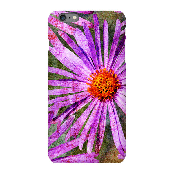 Birthday Blossoms September Aster Phone Case iPhone 6S Plus