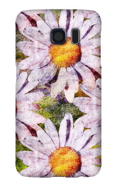 Birthday Blossoms April Daisy Phone Case Galaxy S6