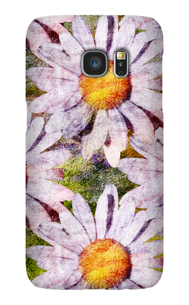 Birthday Blossoms April Daisy Phone Case Galaxy S7