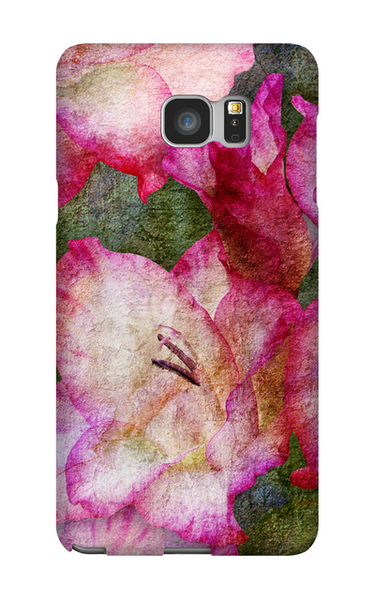 Birthday Blossoms August Gladiolus Phone Case Galaxy 5
