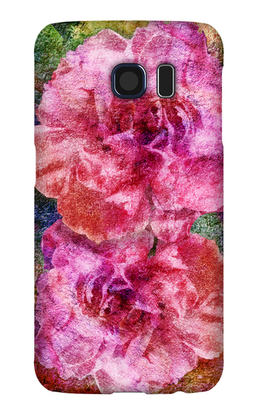 Birthday Blossoms January Carnation Phone Case Galaxy S6