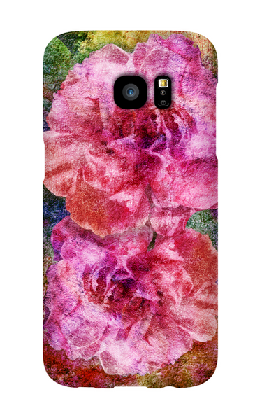 Birthday Blossoms January Carnation Phone Case Galaxy S7 EDGE