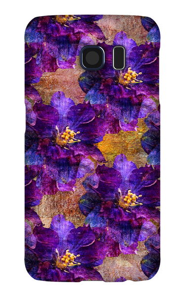 Birthday Blossoms July Larkspur Phone Case Galaxy S6