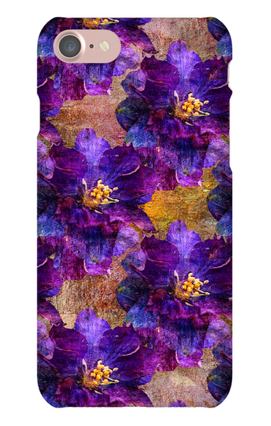 Birthday Blossoms July Larkspur Phone Case iPhone 7