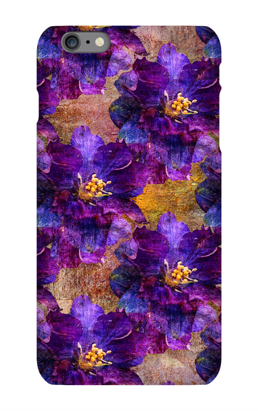 Birthday Blossoms July Larkspur Phone Case iPhone 6S Plus