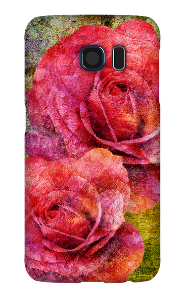 Birthday Blossoms June Rose Phone Case Galaxy S6