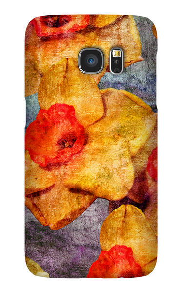 Birthday Blossoms March Daffodil Phone Case Galaxy S7