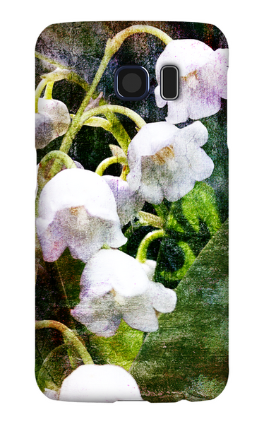 Birthday Blossoms May Lily of the Valley Phone Case Galaxy S6