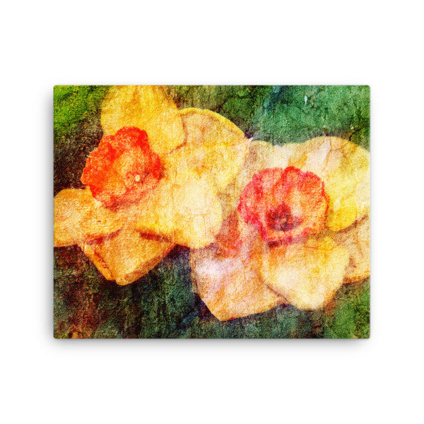 Birthday Blossoms Wall Art - Daffodil