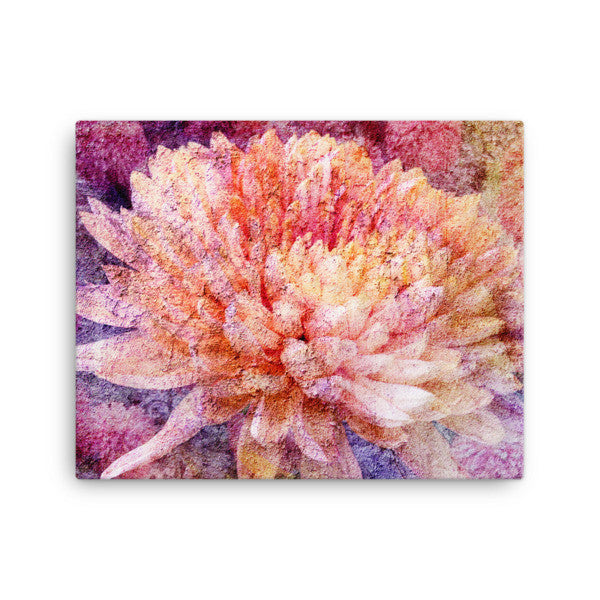 Birthday Blossoms Wall Art - Chrysanthemum