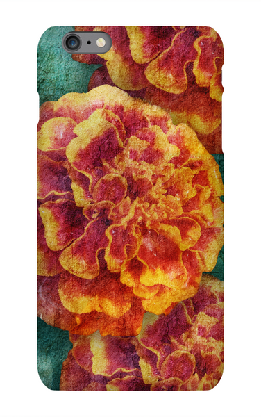 Birthday Blossoms October Marigold Phone Case iPhone 6S Plus