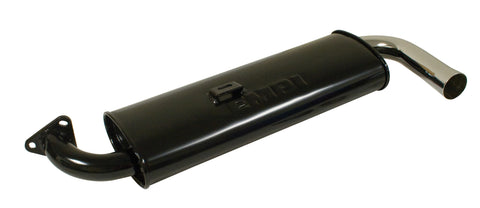 VW Single Quiet Pack Muffler Empi 3122 - dubparts.com
