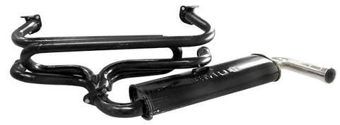 Classic VW Single Quiet Pack Exhaust Empi 3647 - dubparts.com