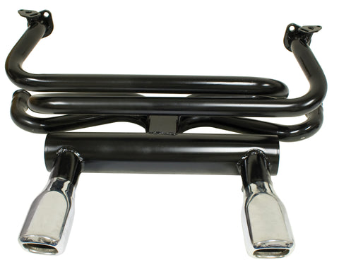 VW Twin Square Tip GT Exhaust Empi 3675 - dubparts.com