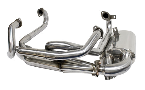 Classic VW Stainless Steel Sideflow Exhaust 3762 - dubparts.com