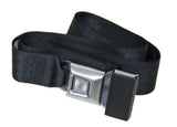 Classic VW 2 Point Push Button Seat Belt with Hardware Empi 3844 - dubparts.com
