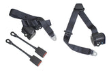 Classic VW 3 Point Retractable Seat Belt/Harness Empi 3851 - dubparts.com