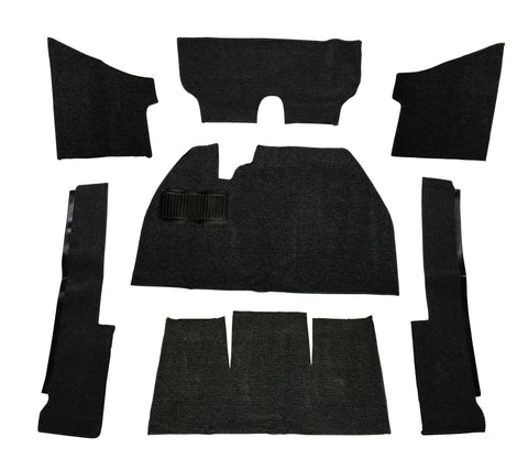 Classic VW 7 Piece Carpet Kit for 71-72 Super Beetle Empi 3918 - dubparts.com
