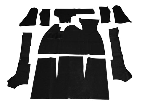 Classic VW Super Beetle Deluxe Carpet Kit 73-79 Empi 3984 - dubparts.com