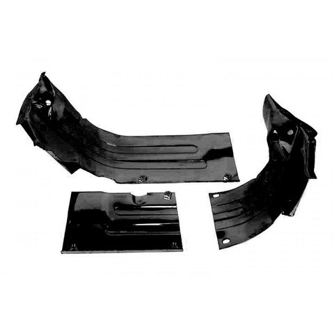 Heater Channel Tin for air cooled upright VW Engines (Black), Empi 8948